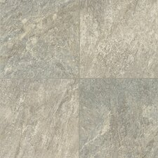 """Alterna Reserve 16"""" x 16"""" Engineered Stone Field Tile in Pearl Gray"""