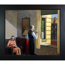 Hotel by the Railroad, 1952 by Edward Hopper Framed Graphic Art