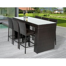 quick view napa 7 piece bar set source outdoor furniture side e