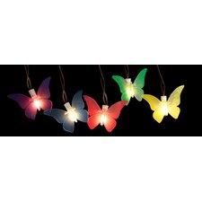 10-Light Butterfly String Lights (Set of 10)