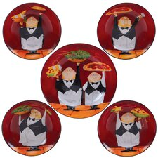Waiters Pasta Bowl Set of 5