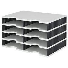 Styrodoc Duo 22.3cm H x 48.5cm W Desk Top Unit