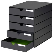 Styroval Usm 5-Drawer Lateral File