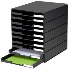 Schubladenbox Styroval Usm mit 10 Schubladen
