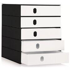 Schubladenbox Styroval Pro 243 mit 5 Schubladen