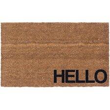 Lacie Hello Doormat