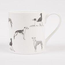 Long Dog 20cm Bone China Mug