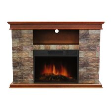 "Sanibel 48"" TV Stand with Electric Fireplace"