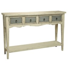 Lula 4 Drawer Console Table  by August Grove®