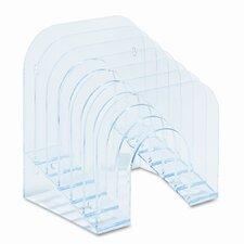 6-Tier Jumbo Incline Sorter, Plastic