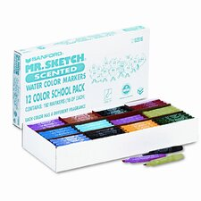 Mr. Sketch Scented Watercolor Markers, 192/Set