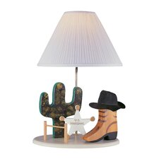 """Western 21.5"""" Table Lamp"""