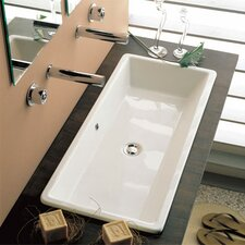 Gaia Self Rimming Bathroom Sink