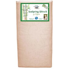 Cradletyme Naturals EcoSpring Ultra II Crib Mattress