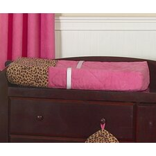 Cheetah Pink Collection Changing Pad Cover