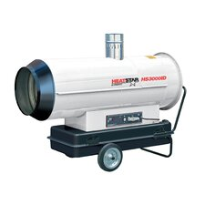 Indirect Fired 300,000 BTU Portable Propane Forced Air Utility Heater