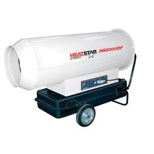 600,000 BTU Portable Propane Forced Air Utility Heater