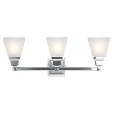 Bruno 3-Light Vanity Light