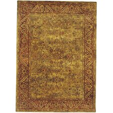 Golden Jaipur Patina Green/Rust Area Rug