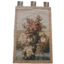 Rose Radiance Woven Tapestry