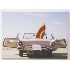 Gone Surfin Printed Photographic Print on Wrapped Canvas