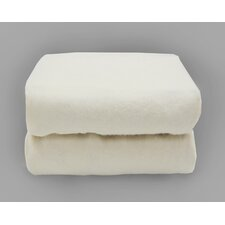 Tadpoles Organics Cradle Fitted Sheets in White (Set of 2)