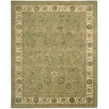 nourison handtufted light green area rug - Nourison Rugs
