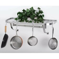 Stainless Steel Wall Mounted Pot Rack