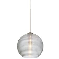 Kristall 1-Light Globe Pendant