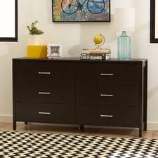 Lupe 6 Drawer Dresser