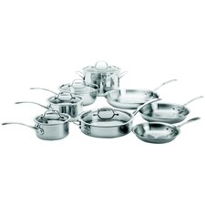 Tri-Ply Stainless Steel 13 Piece Cookware Set
