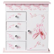 Duke Ballerina Musical Jewelry Box with Door