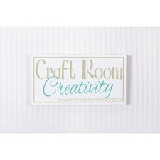 Craft Room Sign Wall Décor