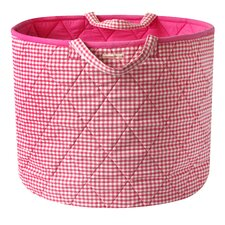 Gingham Toy Bag