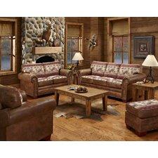 Deer Valley 4 Piece Living Room Set with Sleeper Sofa