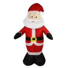 Inflatable Lighted Santa Claus Christmas Decoration