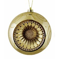 Retro Reflector Shatterproof Christmas Ball Ornament