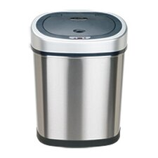 Stainless Steel 11.1 Motion Sensor Trash Can