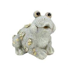 Stone-Inspired Frog Outdoor Patio Garden Statue