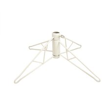 7.5' White Artificial Christmas Tree Stand