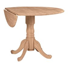 quick view carrie round 42 dual drop leaf dining table - Drop Leaf Round Kitchen Table