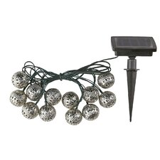 12 Light Lantern String Lights