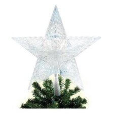Lighted 5 Point Star Christmas Tree Topper