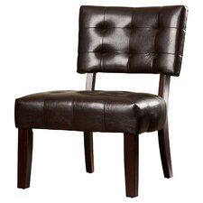 Modern Vinyl Slipper Chair