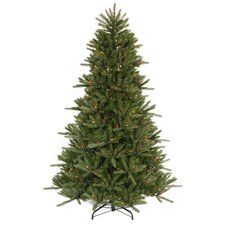 4.5' Vermont Fir Instant Shape Artificial Christmas Tree with Multi Light