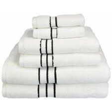Patric Solid 6 Piece Towel Set