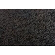 Andeline Antique Black Walrus Leather Placemat