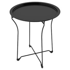 Sims Metal Tray End Table
