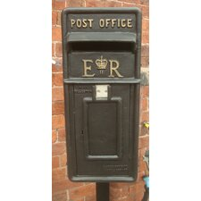 Replica Royal Locking Post Mounted Letter Box