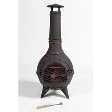 Jupiter Cast Iron Wood Chiminea